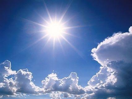 Soare puternic