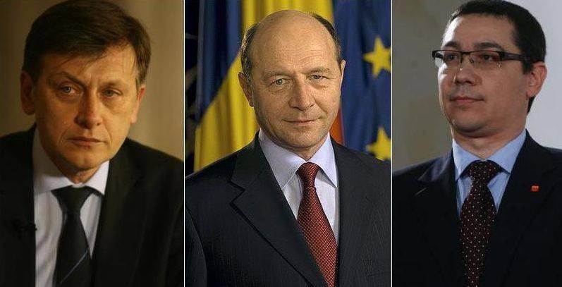 Antonescu, Basescu si Ponta