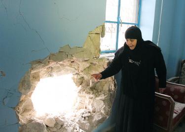 Saidanaya Manastire Siria Bomba