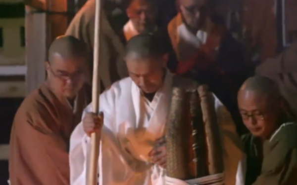 Un monah budist l-a văzut pe dascălul său în iad