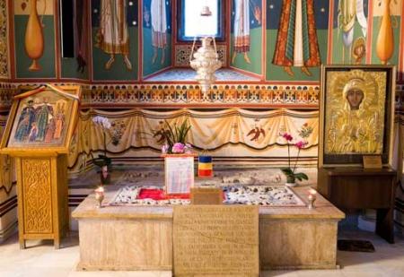 Mormantul Sfintilor Martiri Brancoveni