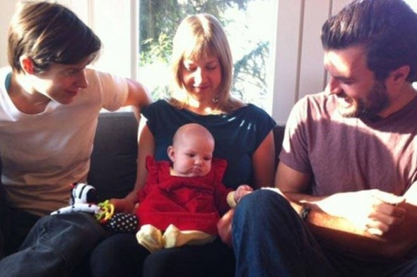 Copil cu trei parinti in Canada