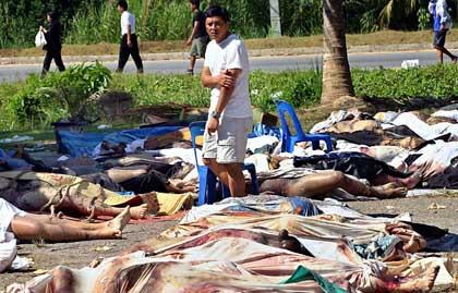 Opfer des Seebebens