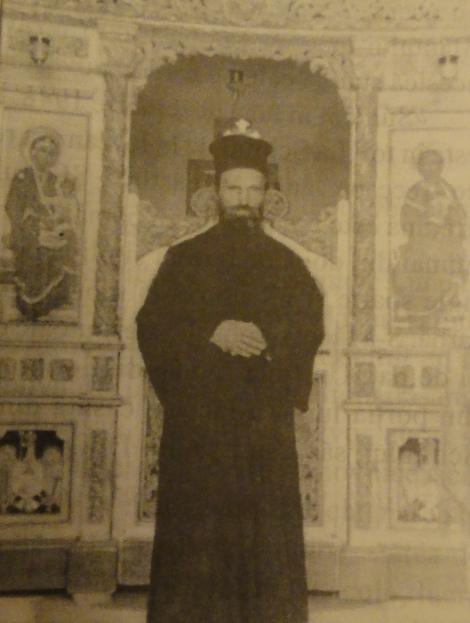 Sfântul Ioan Iacob în biserica Schitului Românesc Sfântul Ioan Botezătorul.