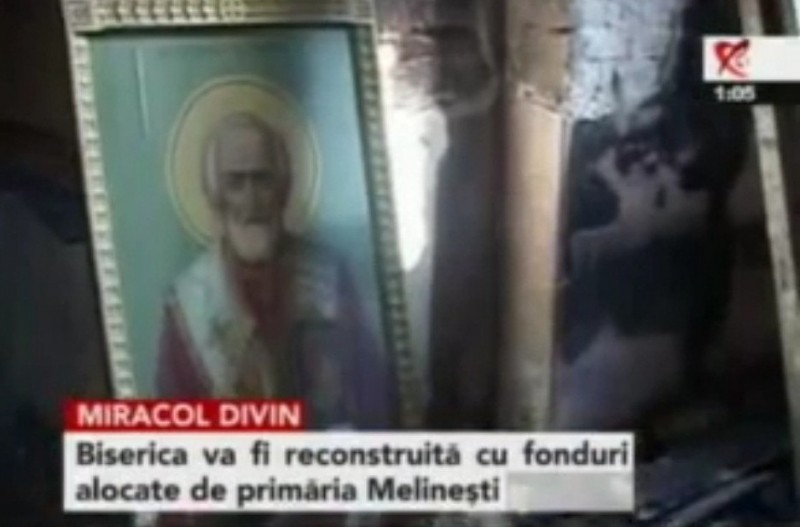 Icoana Sfantului Nicolae Melinesti