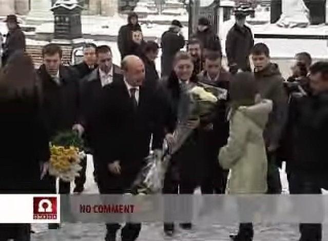 Traian Basescu cruce intoarsa