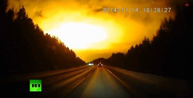 Lumina pe Cerul Rusiei
