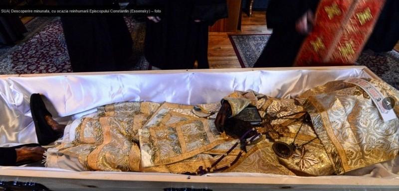 Reinhumarea Episcopului Constantin (Essensky)