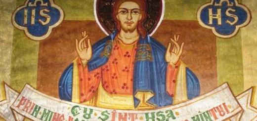 Mantuitorul Iisus Hristos pictura in biserica
