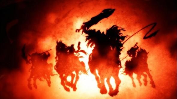 Apocalipsa - cei patru calareti