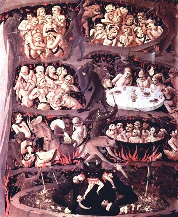 Sufletele oamenilor in iad