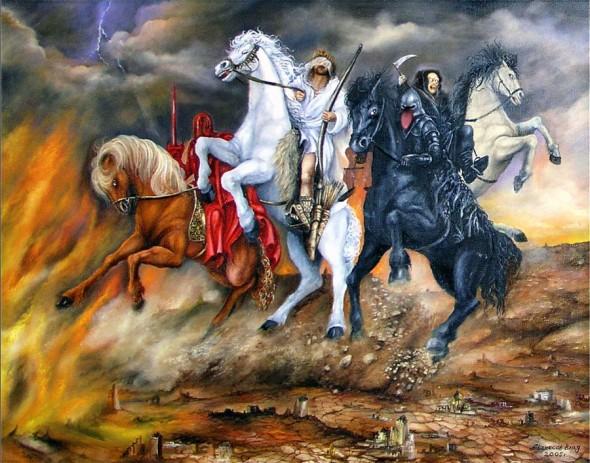cei patru calareti apocalipsa