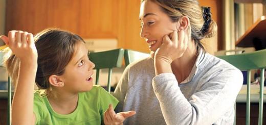 de vorba cu copilul