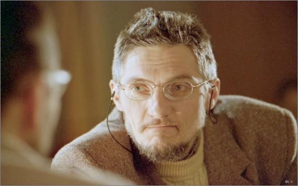 FOTO: Aceasta este una dintre ultimele fotografi i cu Dragoș Pîslaru făcute cu puțin timp înainte de a îmbrăca, defi nitiv, sutana FOTO: DINU LAZĂR