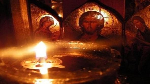 ortodox icoana lumina alumanare mantuitorul iisus hristos