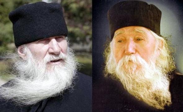 Parintele-Ioanichie-Balan-si-Parintele-Ilie-Cleopa