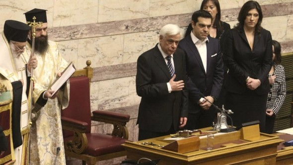 Noul-presedinte-grec-Prokopis-Pavlopoulos-juramant