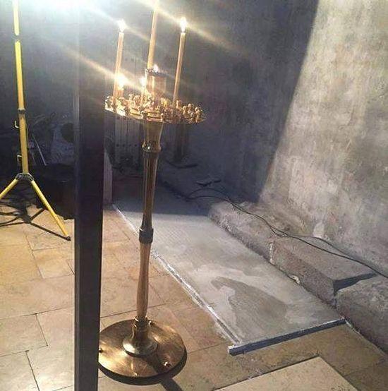 icoana aparitie miraculoasa sfantul cuvios gabriel urgebadze manastirea sfanta nina