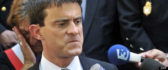 French Interior Minister, Manuel Valls