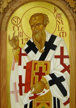 Sfântul Chiril al Ierusalimului