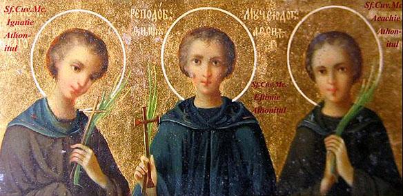 Noul Cuvios Mucenic Ignatie este prăznuit pe data de 9 octombrie, iar împreună cu Sfinții Noi Mucenici Eftimie și Acachie este pomenit în ziua de 1 mai