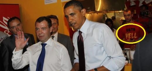 Dmitry Medvedev, Barack Obama
