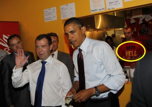 Dmitry Medvedev, Barack Obama