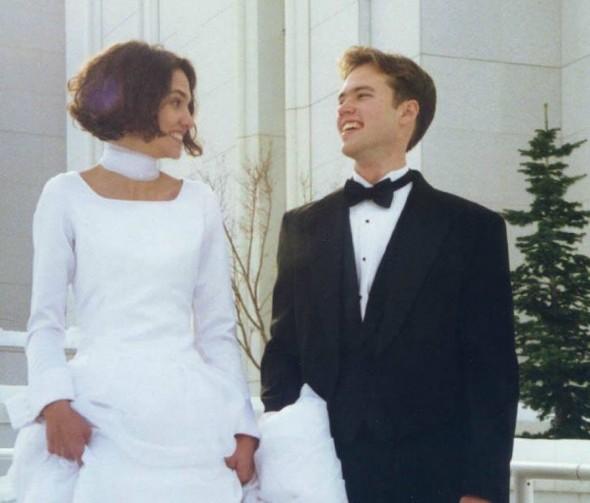 Rogers și soția sa la nuntă Foto: Facebook Gerald Rogers