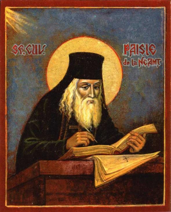 Sf. Cuvios Paisie Velicikovski de la Neamţ