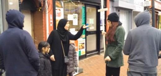 manifestatie crestina musulmani anglia