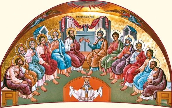 Cincizecimea. Frescă, Mănăstirea Putna