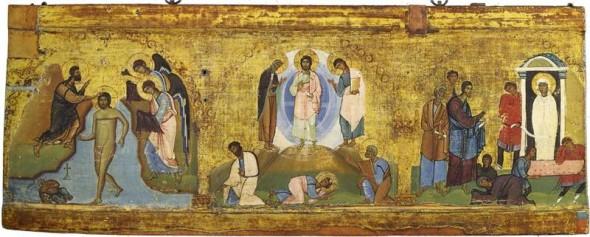 botezul domnului schimbarea la fata si invierea - trei botezuri
