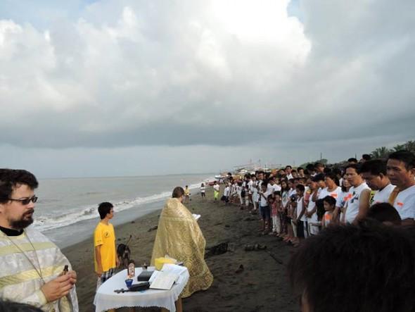 protestanti convertiti in masa botez filipine