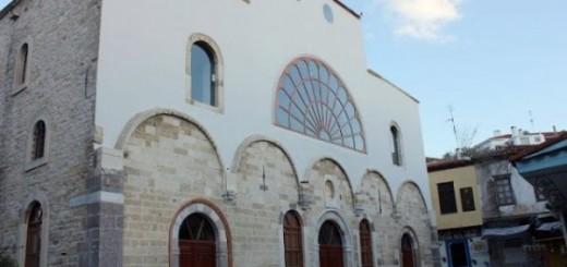 biserica sfantul haralambie krini cesme turcia redeschisa pentru slujire