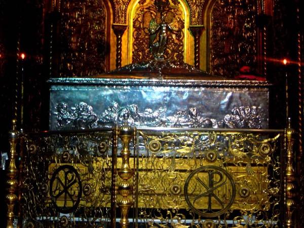Moaştele Sfântului Dionisie din Zakynthos
