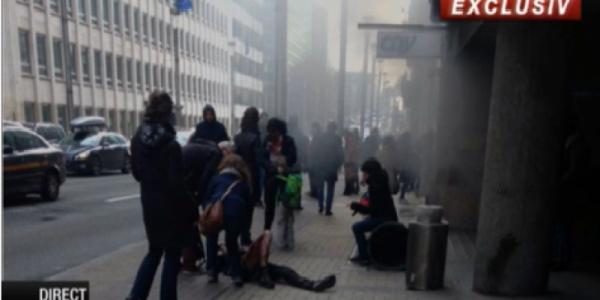 explozii bruxel metrou