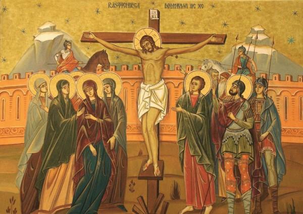 iisus hristos pe cruce