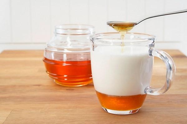 lapte cu miere