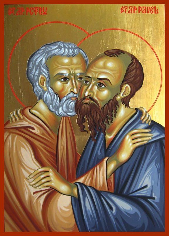 Sfintii Apostoli Petru si Pavel - 29 iunie