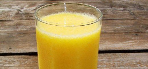 pahar-de-suc-galben